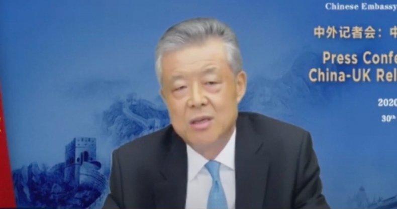 China's ambassador to the U.K.