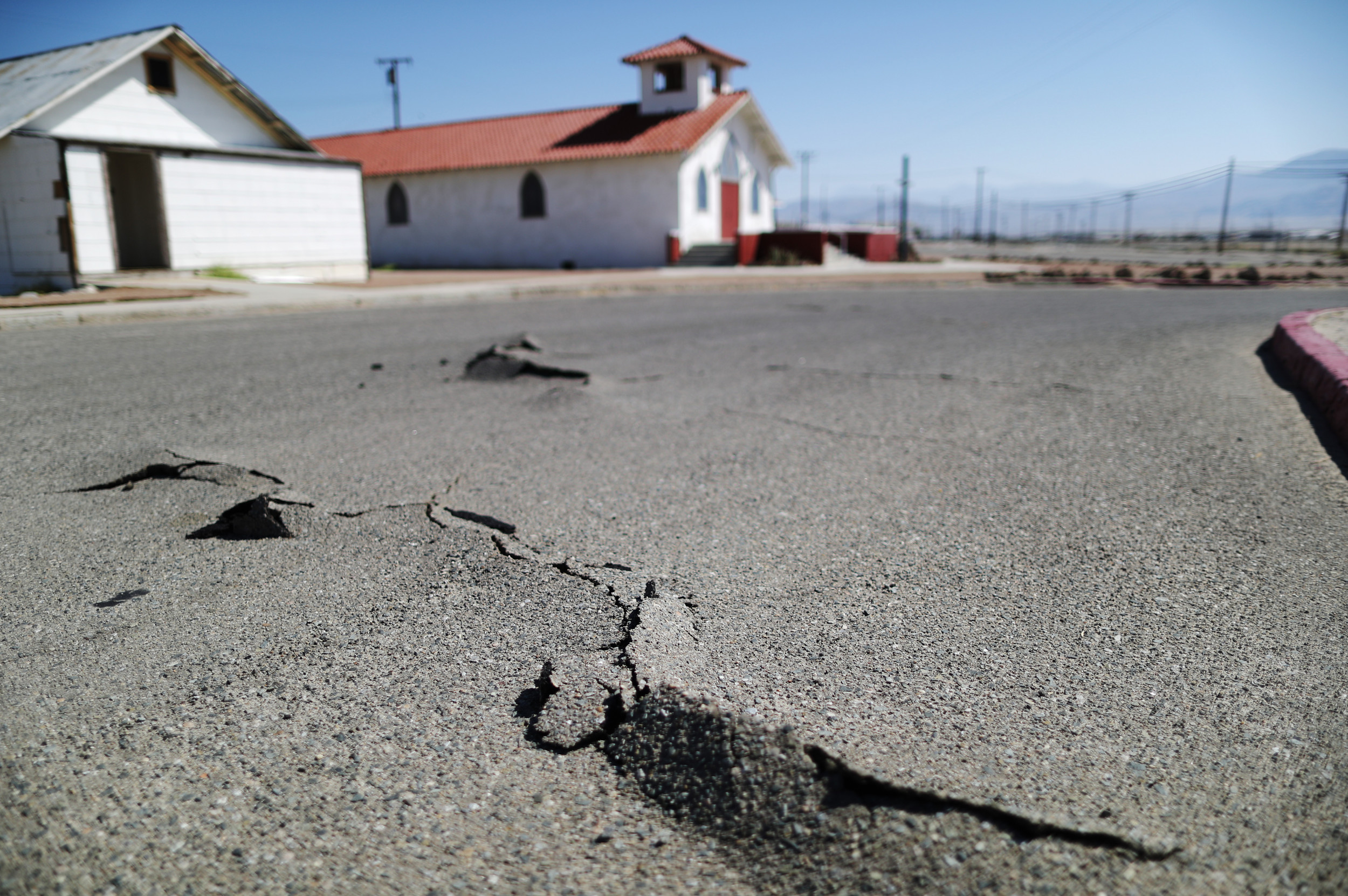 """Los Angeles earthquake that rocked San Fernando valley thankfully not """"The Big One"""""""