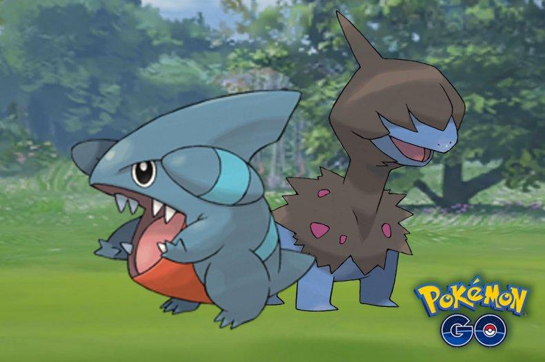pokemon go gible deino dragon week event