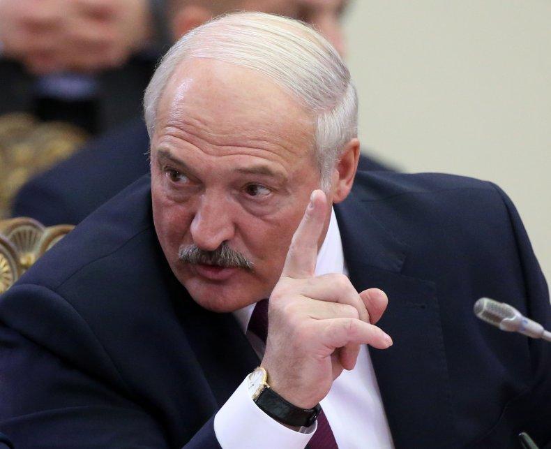 Belarussian President Alexander Lukashenk
