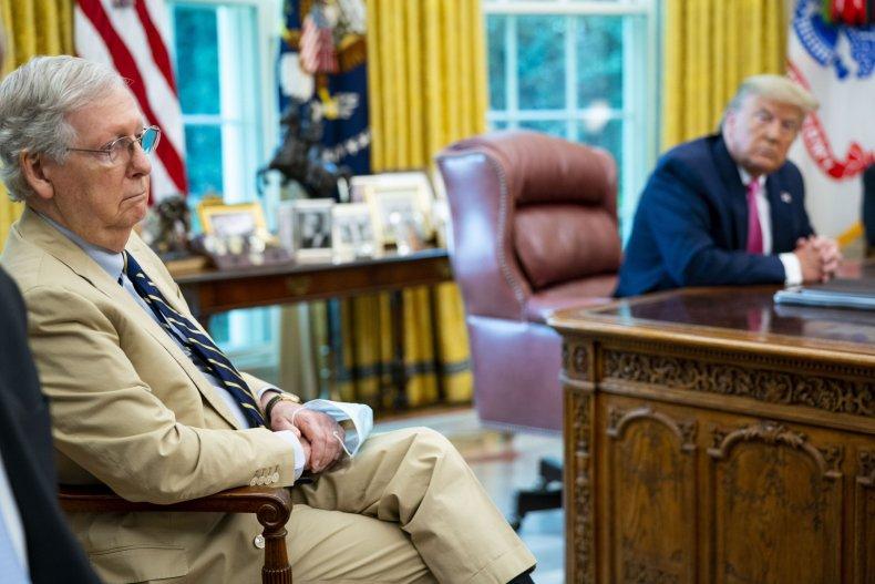 Republicans reject Trump's push to delay election