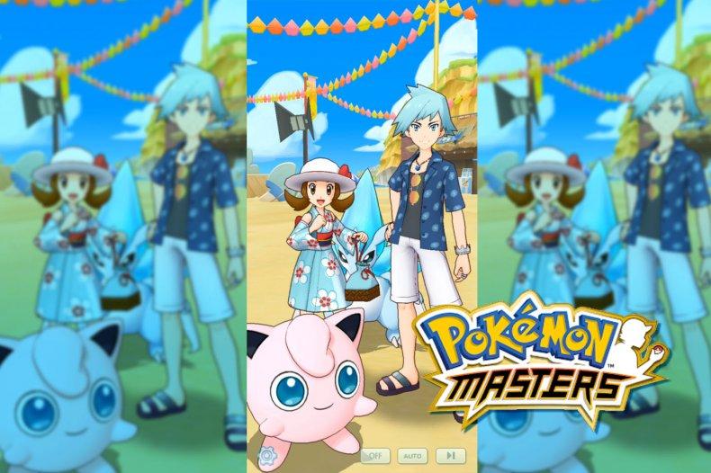 pokemon masters summer event steven lyra