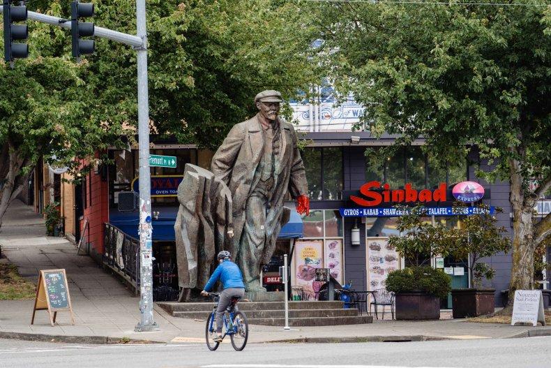 Lenin in Seattle 3