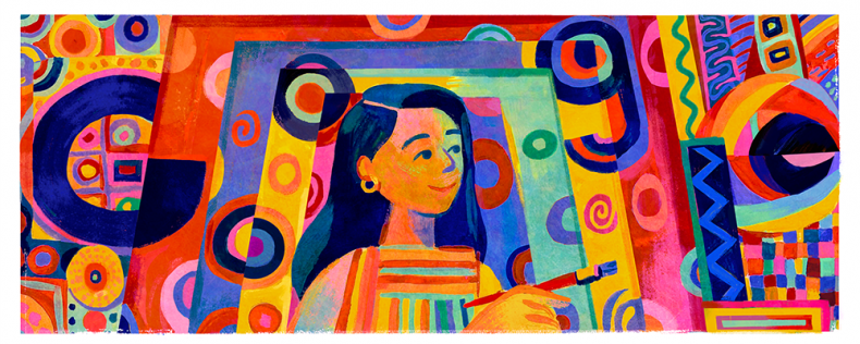 Pacita Abad Google Doodle