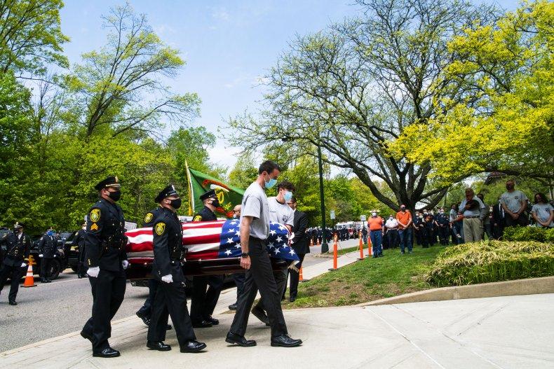 New Jersey funeral coronavirus May 2020
