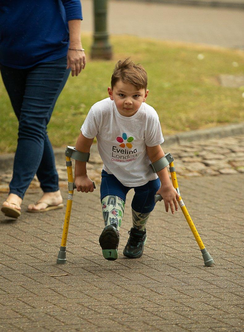 Fundraising, prosthetics, heroes, children