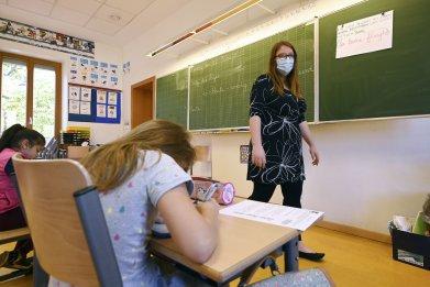 Strasbourg school France June 2020