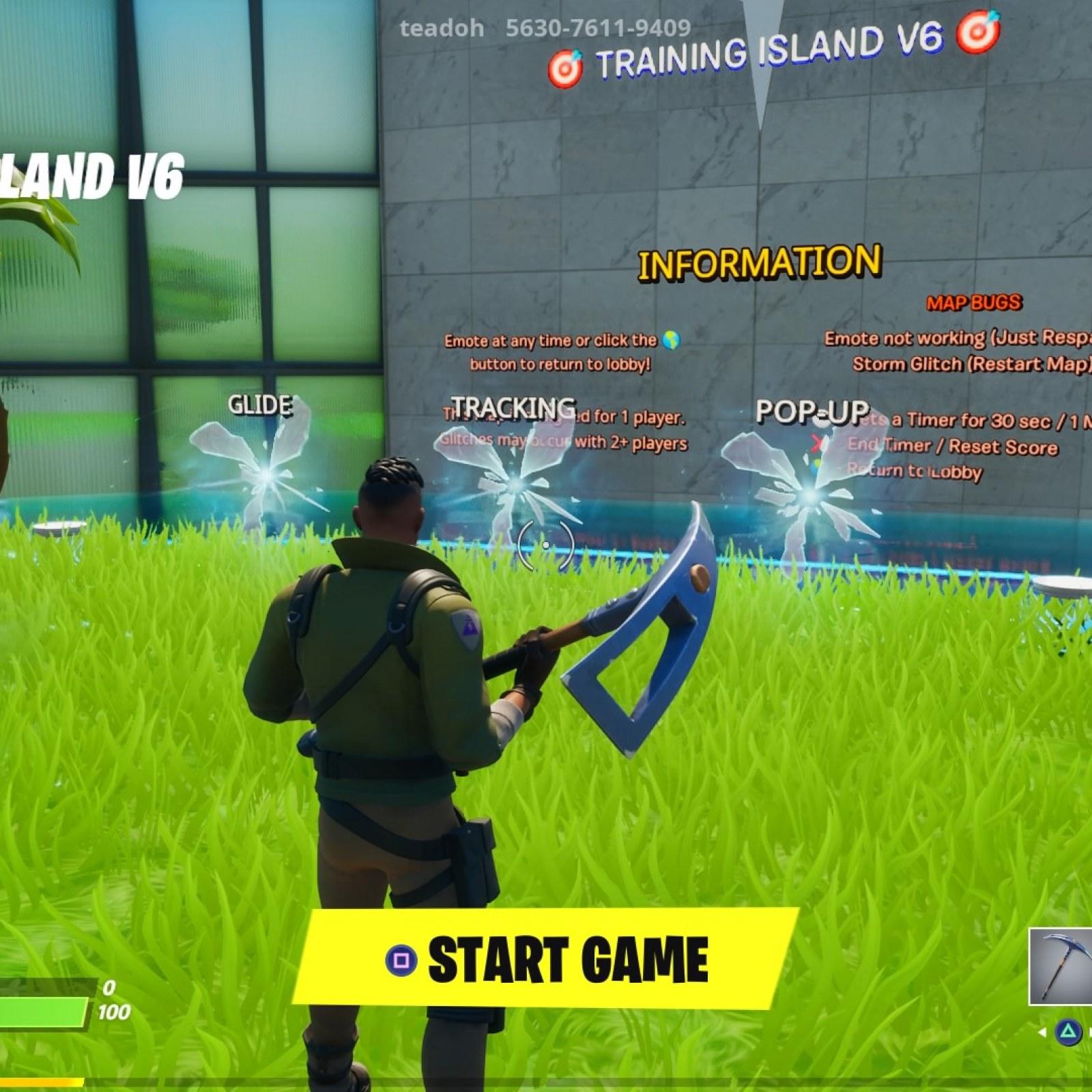 School Creative Fortnite Fortnite Creative 6 Fun Codes Aim Trainer And Gun Game Maps For August 2020