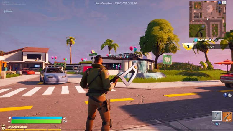 fortnite paradise gun game