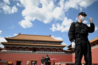 Forbidden City during coronavirus