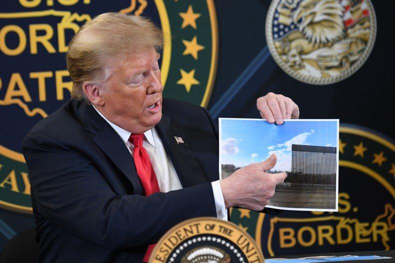 donald trump, border wall