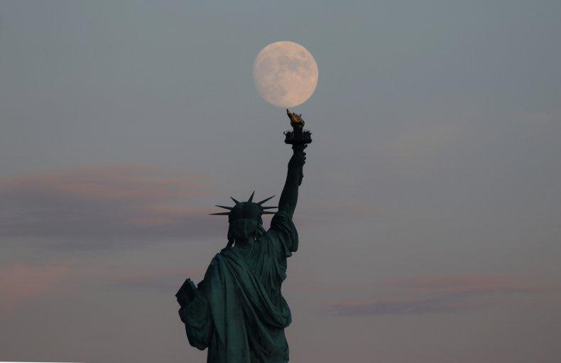 moon, New York City