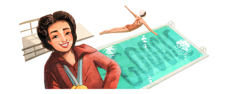 Vicki Draves Google Doodle