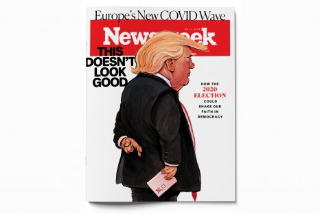Trump election nightmare 2020 cover