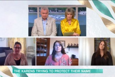karens panel itv morning show