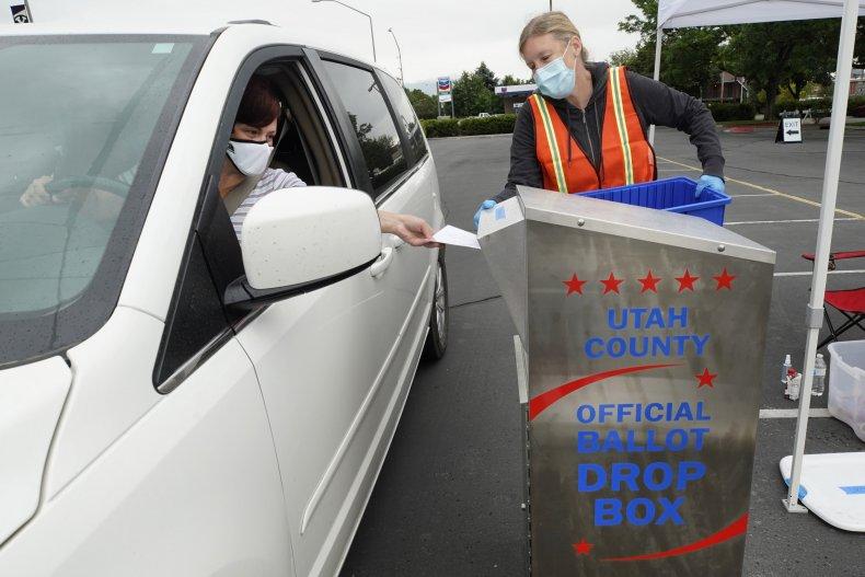 Mail-in voting in Utah