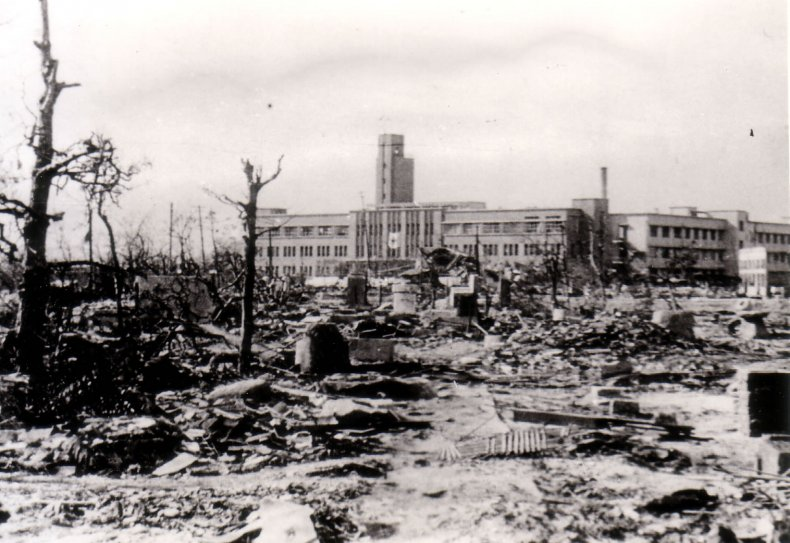Hiroshima, Atomic Bomb, Hospital