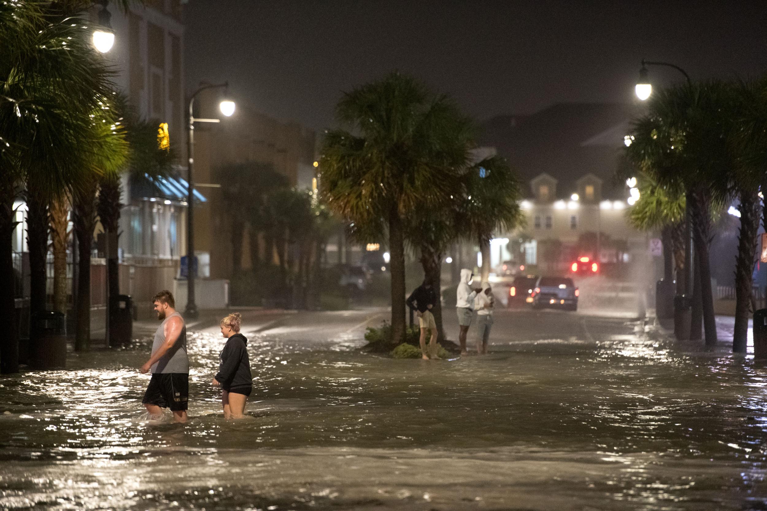 Tropical Storm Isaias photos reveal widespread damage, flooding in Carolinas