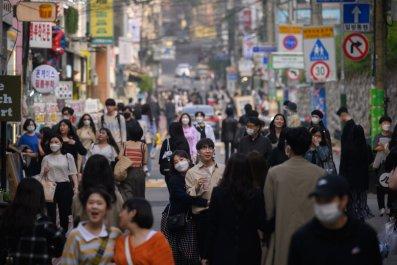 Hongdae, Seoul, South Korea, May 2020