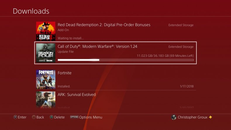 modern warfare season 5 preload download