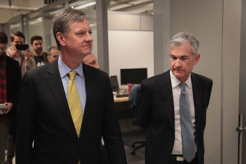 Jerome Powell and Charles Evans