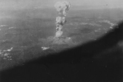 Hiroshima atomic bomb cloud