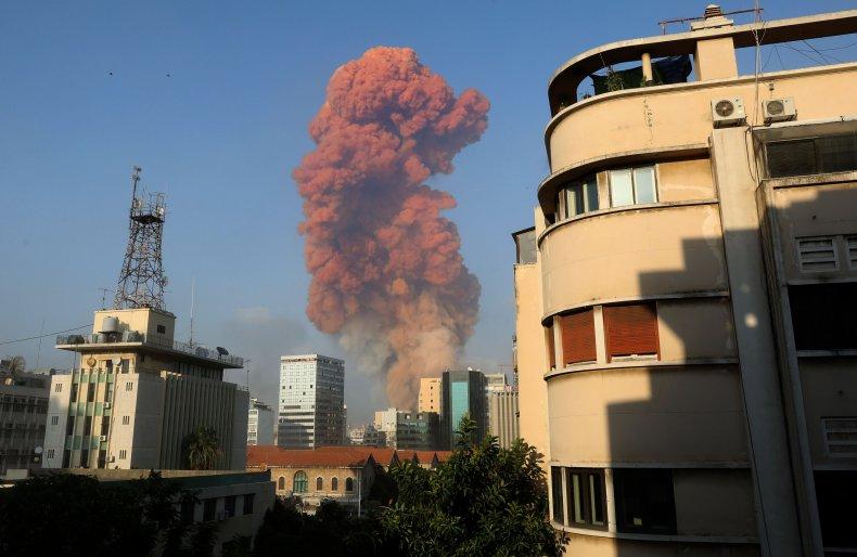 lebanon, blast, explosion