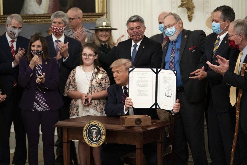 Donald Trump Outdoors Act