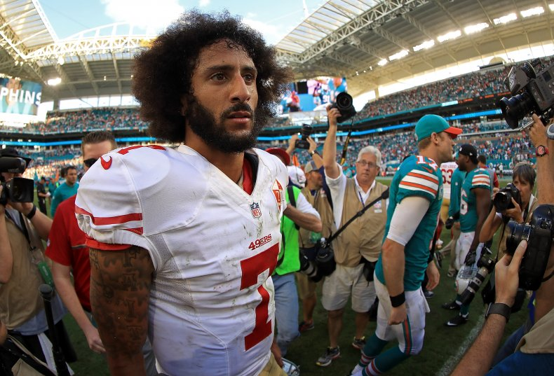 Colin Kaepernick navy NFL viral video attack
