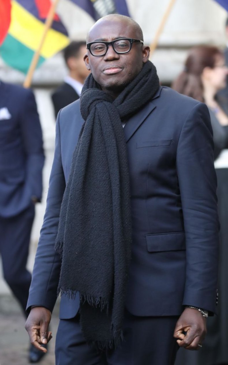 Edward Enninful of Vogue, Commonwealth Day Service