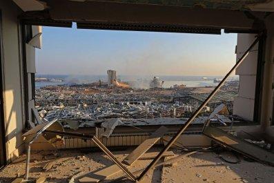 Aftermath of Beirut blast