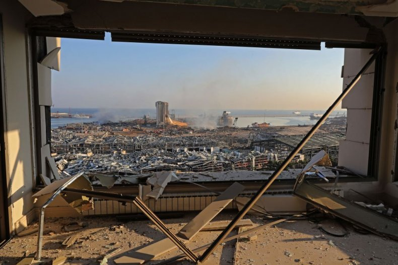 Aftermath of Beirut blast