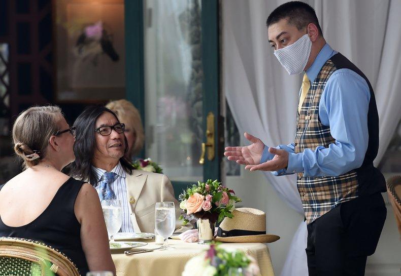 Virginia restaurant reopening May 2020