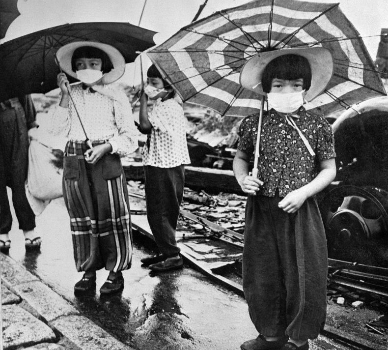 Hiroshima, Japan, world war II, getty