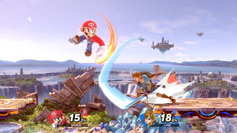 super smash bros ultimate small battlefiled update