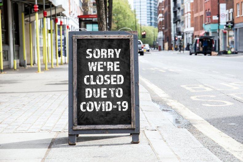Closed Covid-19 Coronavirus