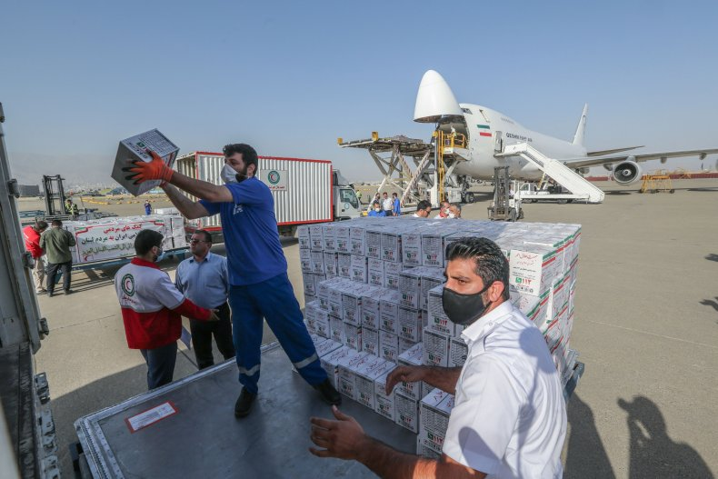 iran, aid, lebanon, beirut, explosion