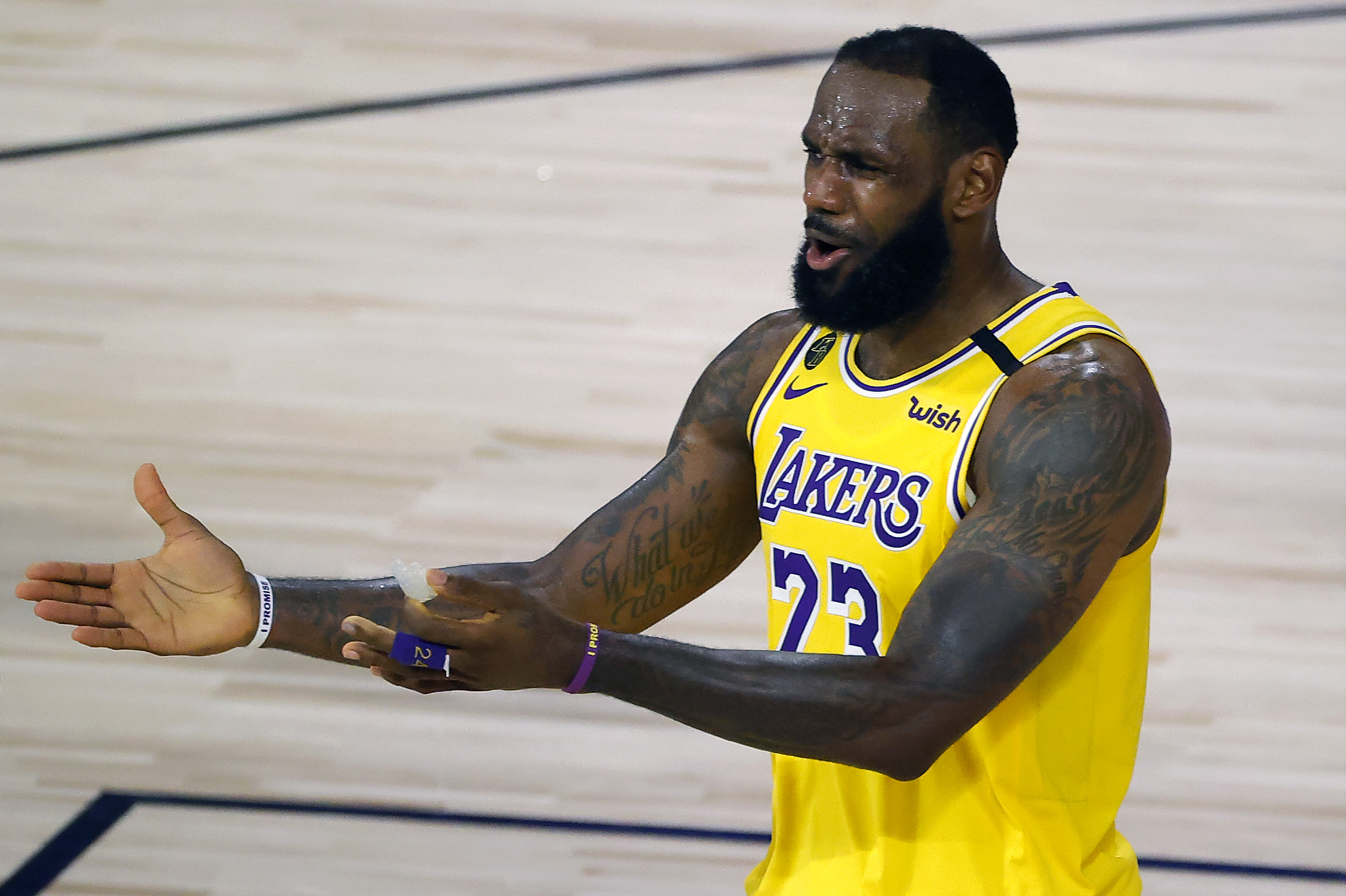 "LeBron James ""couldn't care less"" if Trump watches NBA or not"