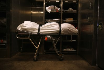 Dead body Tuscon Arizona morgue 2014