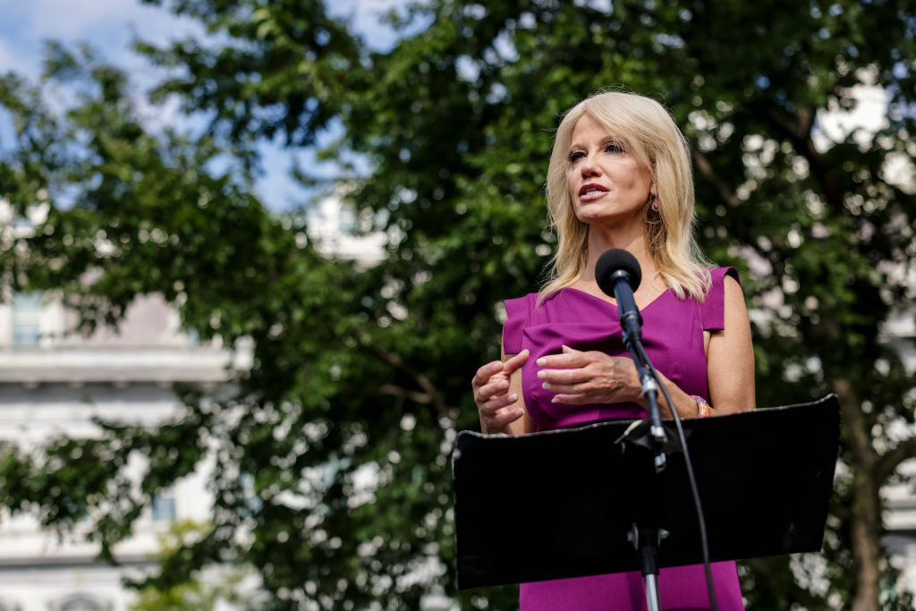 "Kellyanne Conway says White House health experts ""should be listening"" to Trump about coronavirus"