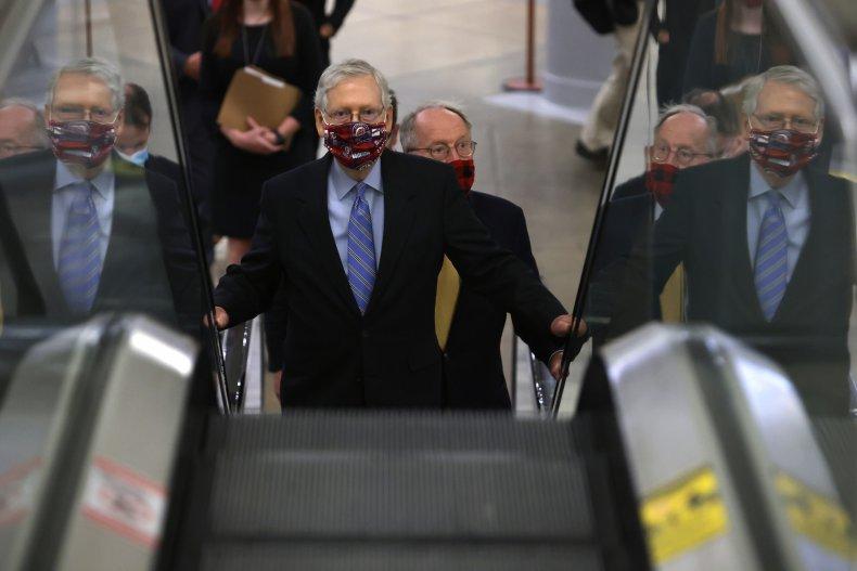 Senators depart Washington, no stimulus deal