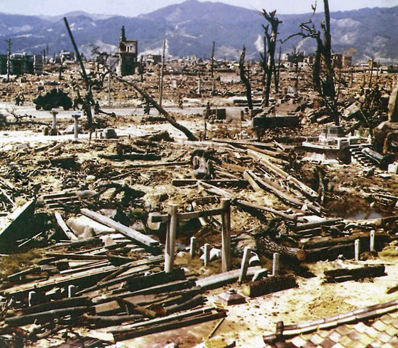japan, hiroshima, district, atomic, bomb, blast