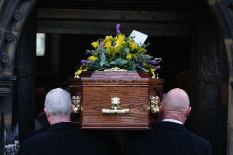 Pallbearers at funeral