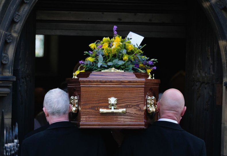 Pallbearers at funeral