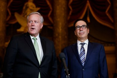 Meadows and Mnuchin