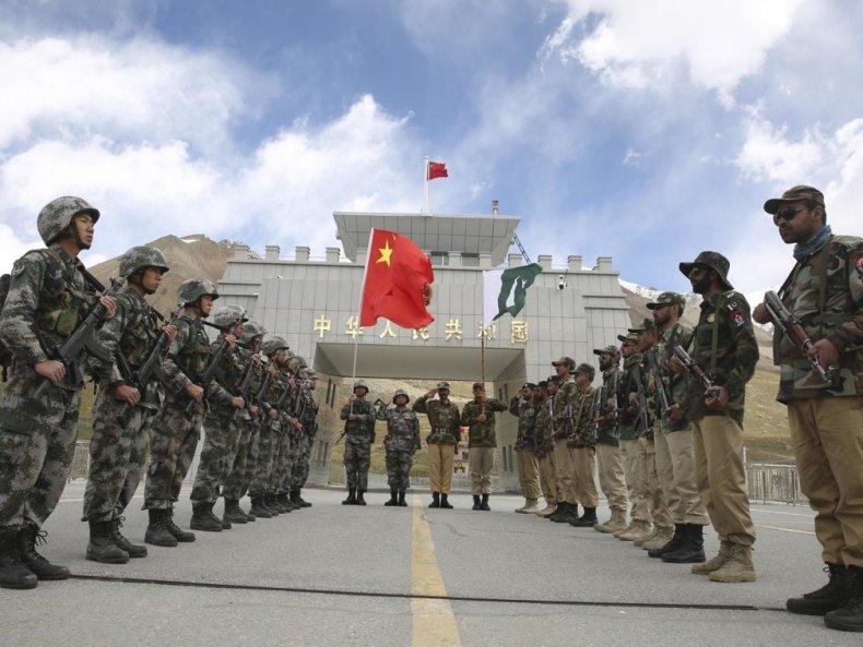 china, pakistan, border, guards