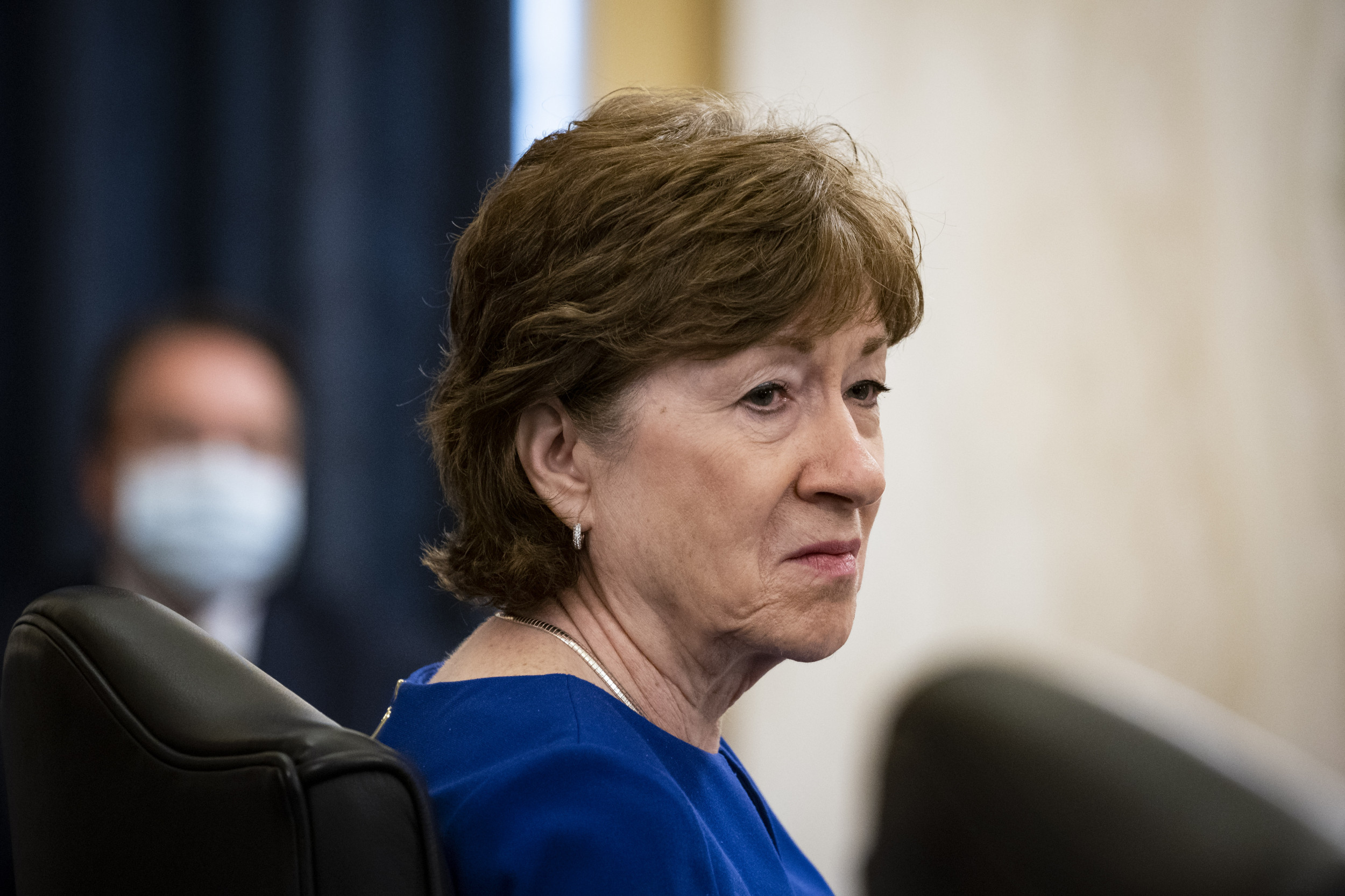 Trump-backed Collins trails Obama-endorsed Gideon in Maine Senate race