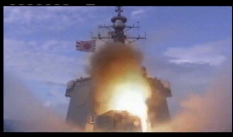 japan, hiroshima, missile, launch, test