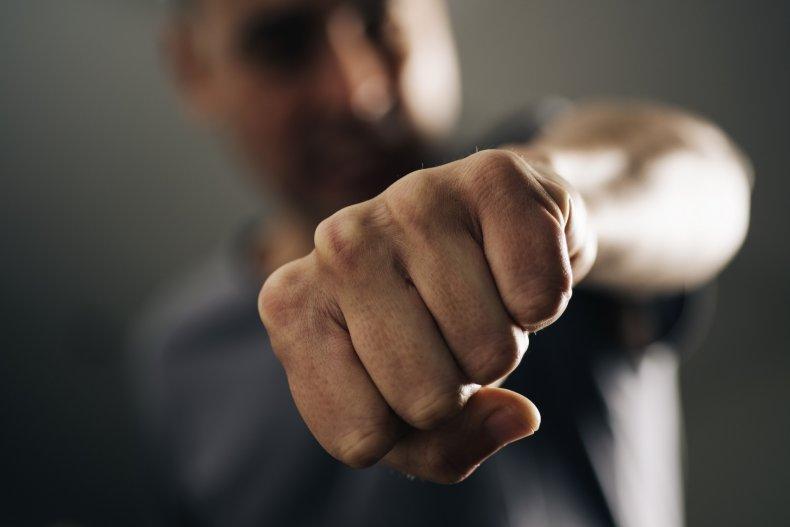 Trump facemask Biden Little Rock punch Arkansas