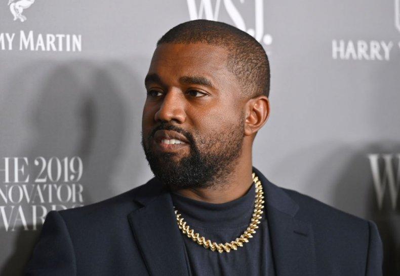 Kanye West at Innovator Awards